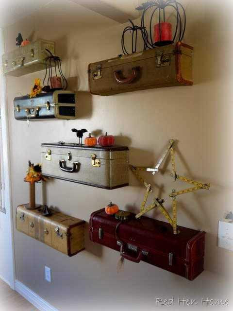 alte koffer versch nern eine wand blog an na haus und. Black Bedroom Furniture Sets. Home Design Ideas